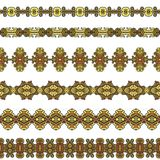 Ornamental seamless pattern Royalty Free Stock Photos