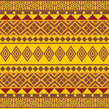 Ornamental seamless pattern afrikan style Royalty Free Stock Photo