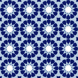 Ornamental seamless pattern, arabic tile,  background Stock Image