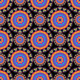 Ornamental seamless pattern background with many details ethnic traditional ornament Royalty Free Stock Photography