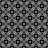 Ornamental seamless pattern. Black and white Royalty Free Stock Image