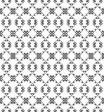 Ornamental seamless pattern. Black and white colors.  Endless template. Ornamental seamless pattern. Black and white colors.  Endless template for wallpaper Royalty Free Illustration