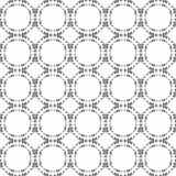 Ornamental seamless pattern. Black and white colors. Endlesstemplate. Royalty Free Stock Image