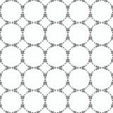 Ornamental seamless pattern. Black and white colors. Endlesstemplate. Stock Image