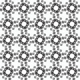 Ornamental seamless pattern. Black and white colors. Endlesstemplate. Royalty Free Stock Photo