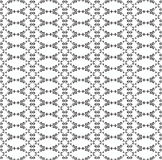 Ornamental seamless pattern. Black and white colors. Endlesstemplate. Royalty Free Stock Photography