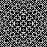Ornamental seamless pattern. Black and white Royalty Free Stock Photo