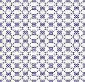 Ornamental seamless pattern. Blue and white colors. Endless template. Ornamental seamless pattern. Blue and white colors.  Endless template for wallpaper Stock Photography