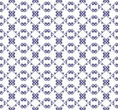 Ornamental seamless pattern. Blue and white colors. Endless template. Ornamental seamless pattern. Blue and white colors.  Endless template for wallpaper Royalty Free Stock Photo