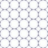 Ornamental seamless pattern. Blue and white colors. Endless template. Ornamental seamless pattern. Blue and white colors.  Endless template for wallpaper Royalty Free Stock Images