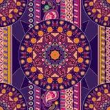 Ornamental seamless pattern Royalty Free Stock Photography
