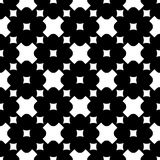 Ornamental seamless pattern, crosses & squares Stock Photography