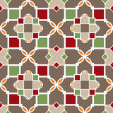 Ornamental seamless pattern damask arabesque elements texture ba Royalty Free Stock Images