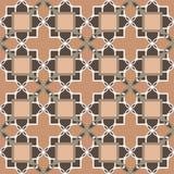 Ornamental seamless pattern damask arabesque elements texture ba Stock Image