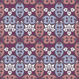 Ornamental seamless pattern damask arabesque and floral elements Stock Photos