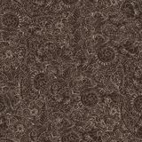 Ornamental seamless pattern dark Stock Images