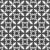 Ornamental seamless pattern. Endless mosaic texture. stock illustration