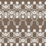 Ornamental seamless pattern geometric elements texture backgroun Stock Photos