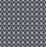 Ornamental seamless pattern. Gray and white colors. Endlesstemplate. Stock Photos