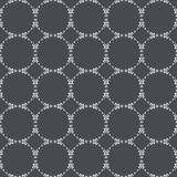 Ornamental seamless pattern. Gray and white colors. Royalty Free Stock Photography