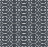 Ornamental seamless pattern. Gray and white colors. Stock Photo