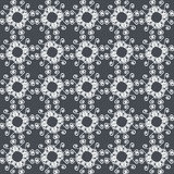 Ornamental seamless pattern. Gray and white colors. Endlesstemplate. Royalty Free Stock Photos