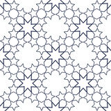 Ornamental seamless pattern in islamic style. Vector abstract background. Stock Image