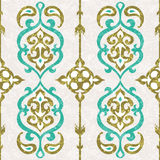 Ornamental seamless pattern in oriental style Stock Images