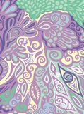 Pattern for paisley. Stock Image