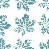 Ornamental seamless pattern.  Seamless background, pattern with. Ornamental seamless pattern. Vector eps8. Seamless background, pattern with leafs Royalty Free Stock Image