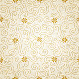 Ornamental seamless pattern with small flowers and curls. Light floral endless background. It can be used for wallpaper, pattern fills, web page background Stock Image