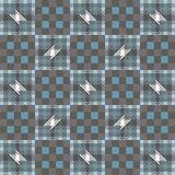 Ornamental seamless pattern tartan. Stock Photography