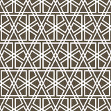 Ornamental seamless pattern. Vector abstract background Royalty Free Stock Image