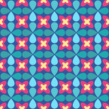 Ornamental seamless pattern. Vector floral background. Stock Photos