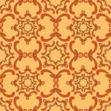 Ornamental seamless pattern. Vintage template. Curve elements. Stock Photography