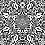 Ornamental Seamless Swirl Pattern Vector Royalty Free Stock Photo