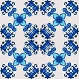 Ornamental seamless vector flourish Stock Photos