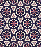 Ornamental sem emenda étnico do teste padrão do vintage tribal abstrato Imagens de Stock Royalty Free