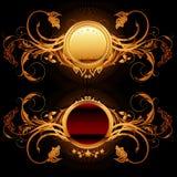Ornamental shield Royalty Free Stock Photography