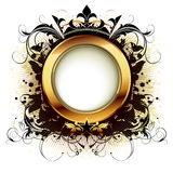 Ornamental shield Royalty Free Stock Image