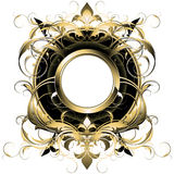Ornamental shield Royalty Free Stock Photography