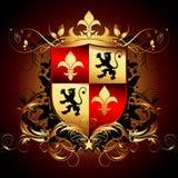 Ornamental shield Royalty Free Stock Photos