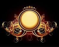 Ornamental shield Royalty Free Stock Image