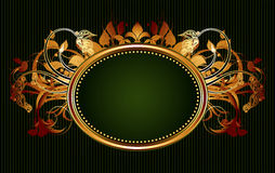 Ornamental shield Royalty Free Stock Images