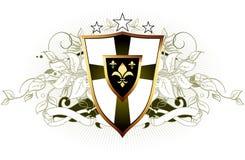 Ornamental shield Royalty Free Stock Photo