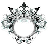Ornamental shield Royalty Free Stock Photo