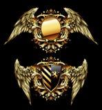 Ornamental shields Royalty Free Stock Image