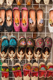 Ornamental slippers Stock Image