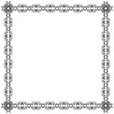 Ornamental square frame Royalty Free Stock Photos