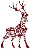 Ornamental stag Royalty Free Stock Photography